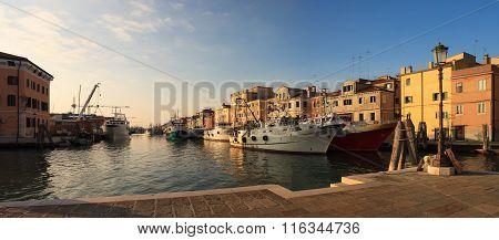 Fisherboats In Chioggia