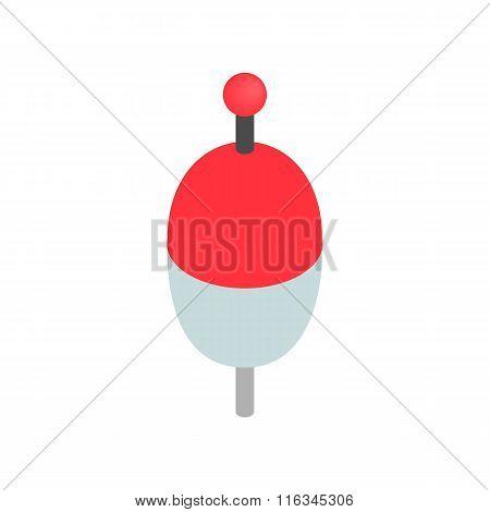 Bobber isometric 3d icon