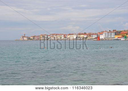 Piran On Slovenian Coast