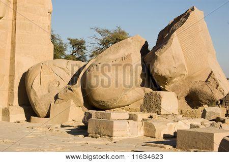 Ozymandias statue, Ramesseum, Luxor
