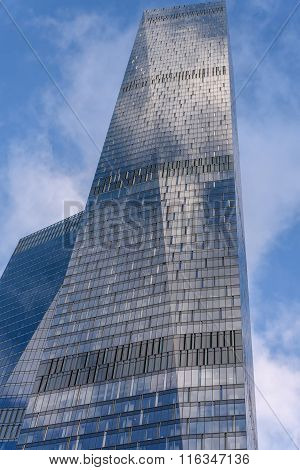 Modern Office Building Glass Construction