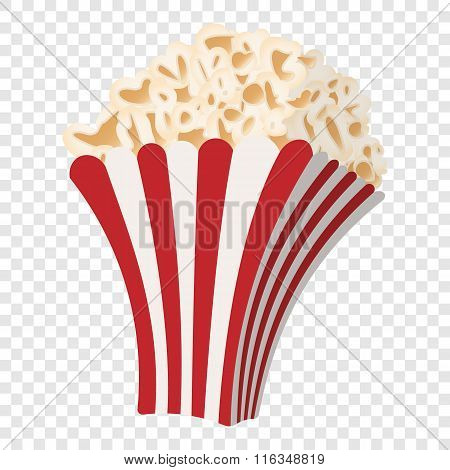 Popcorn cartoon icon