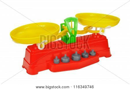 Toy Scales With Weights