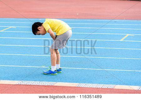 Child Running