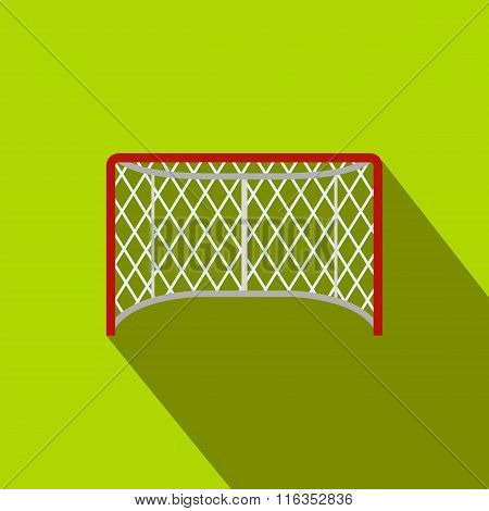 Hockey gates flat icon
