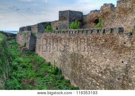 Citadel On The Dniester Estuary