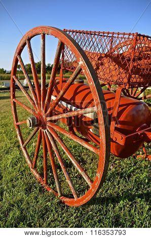 Horse drawn fireman's cart