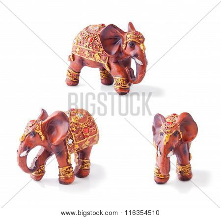 Collage With Indian Elephant
