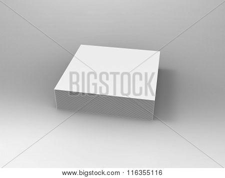 Branding Stationary 3D Render Notes