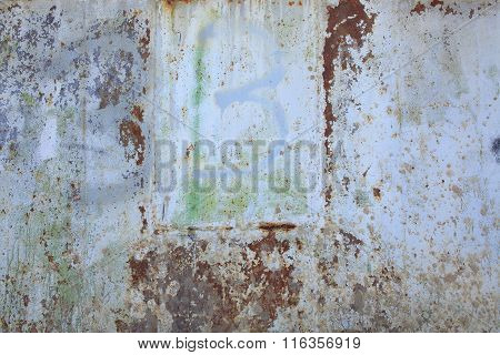 Old metal grange