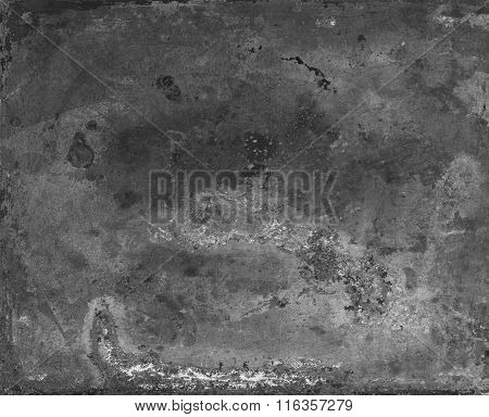Metal texture. Abstract scratched industrial background. scratched