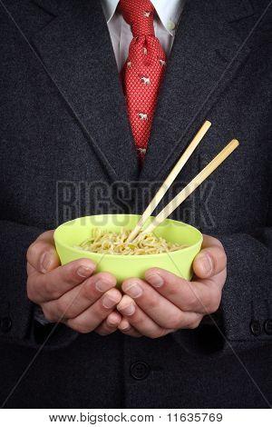 Bowl Of Soup  Noodles