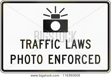 United States Mutcd Road Sign - Traffic Laws Photo Enforced