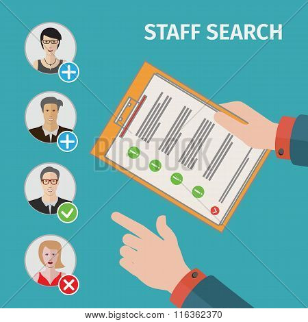 people search business concept
