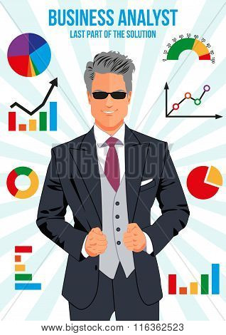 Confident Business Analyst