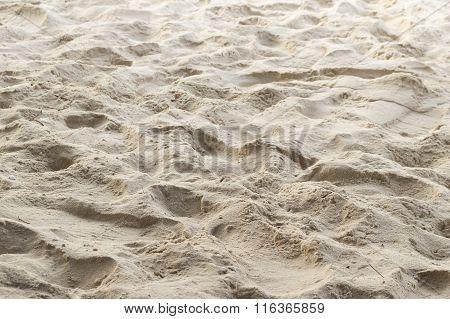 sand beach in Rayong Thailand