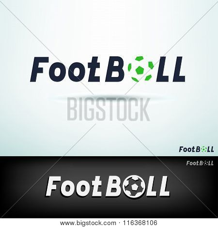 simple football logo