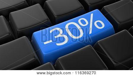 -30% key concept