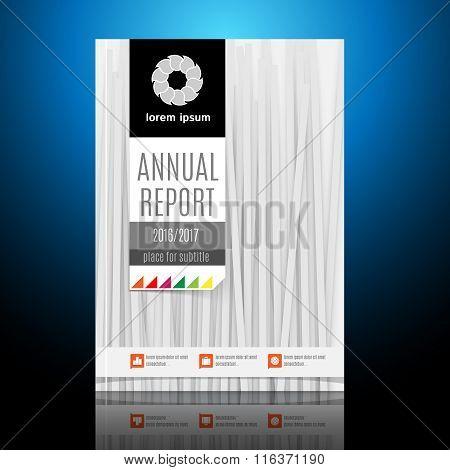 Modern Brochure, Annual report Design Template.