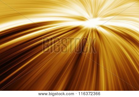 Golden Light Burst