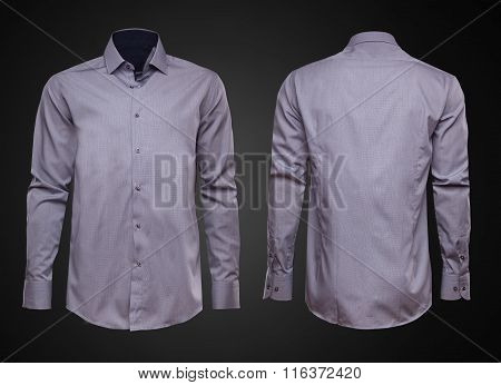 Luxury shirt on dark background.