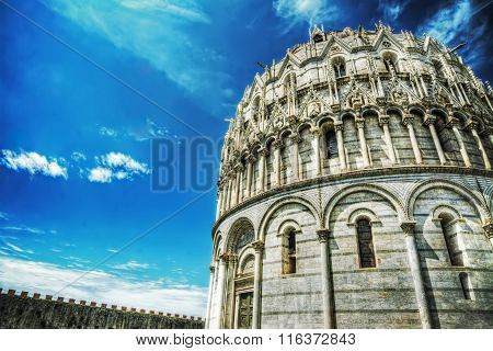 Duomo In Piazza Dei Miracoli In Pisa