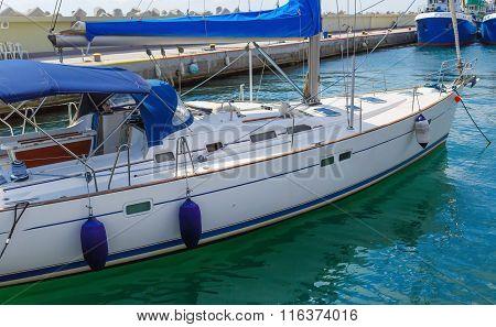 Modern Yacht