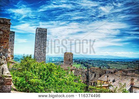 World Famous San Gimignano Towers