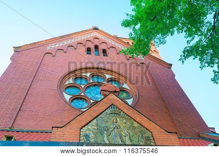 Catholic Church Of St. Simeon And Helena In Minsk, Belarus