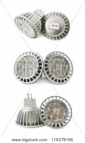 Energy saving led bulb isoalted