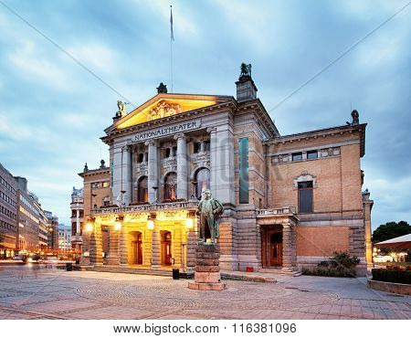 Oslo - National Theater, Norway