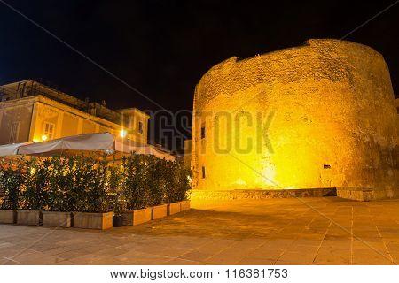 San Giovanni Tower In Alghero