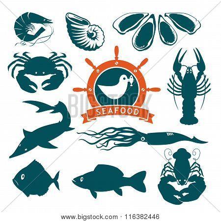 Animals On Seafood