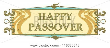 Traditional Passover Banner