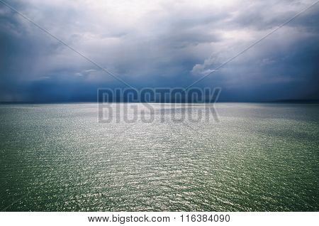 Stormy Sea Background