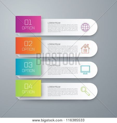 Stock vector business infographics