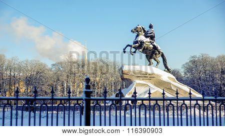 Monument to Pyotr the first
