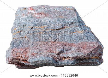Ferruginous Quartzite (jaspillite, Hematite) Rock