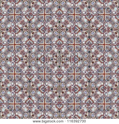 Refined Modern Baroque Seamless Pattern