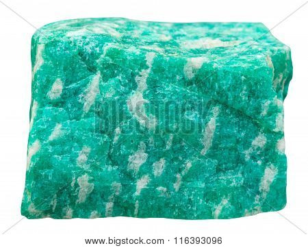 Amazonite (green Microcline Feldspar) Stone