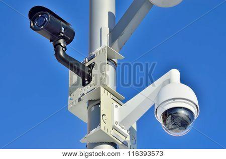 Security Camera Closeup