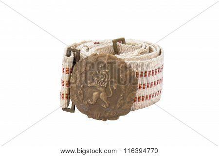 Bulgarian Soldier Belt