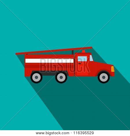 Fire truck flat icon