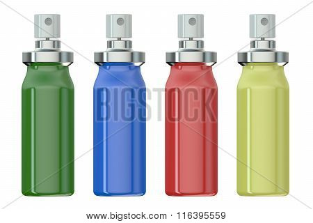 Color Metallic Spray Bottles