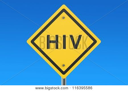 Hiv Road Sign