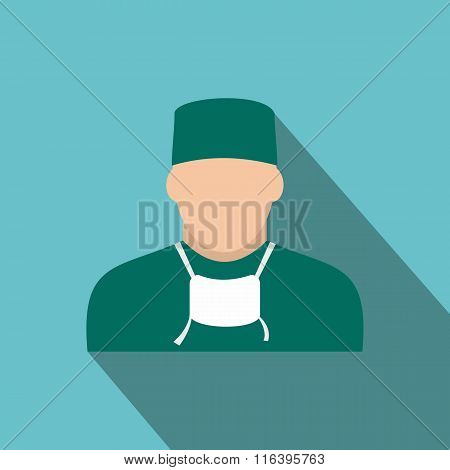 Doctor flat icon