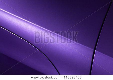 Lilac sedan bodywork