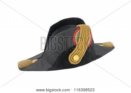 Italian Cocked Hat Of Italian Navy Doctor (officer)