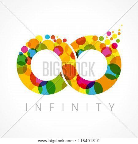 Infinity color logo