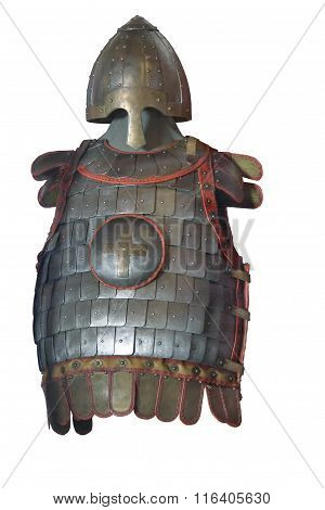 Armor Of Russian Warrior From Prince's Armed Force